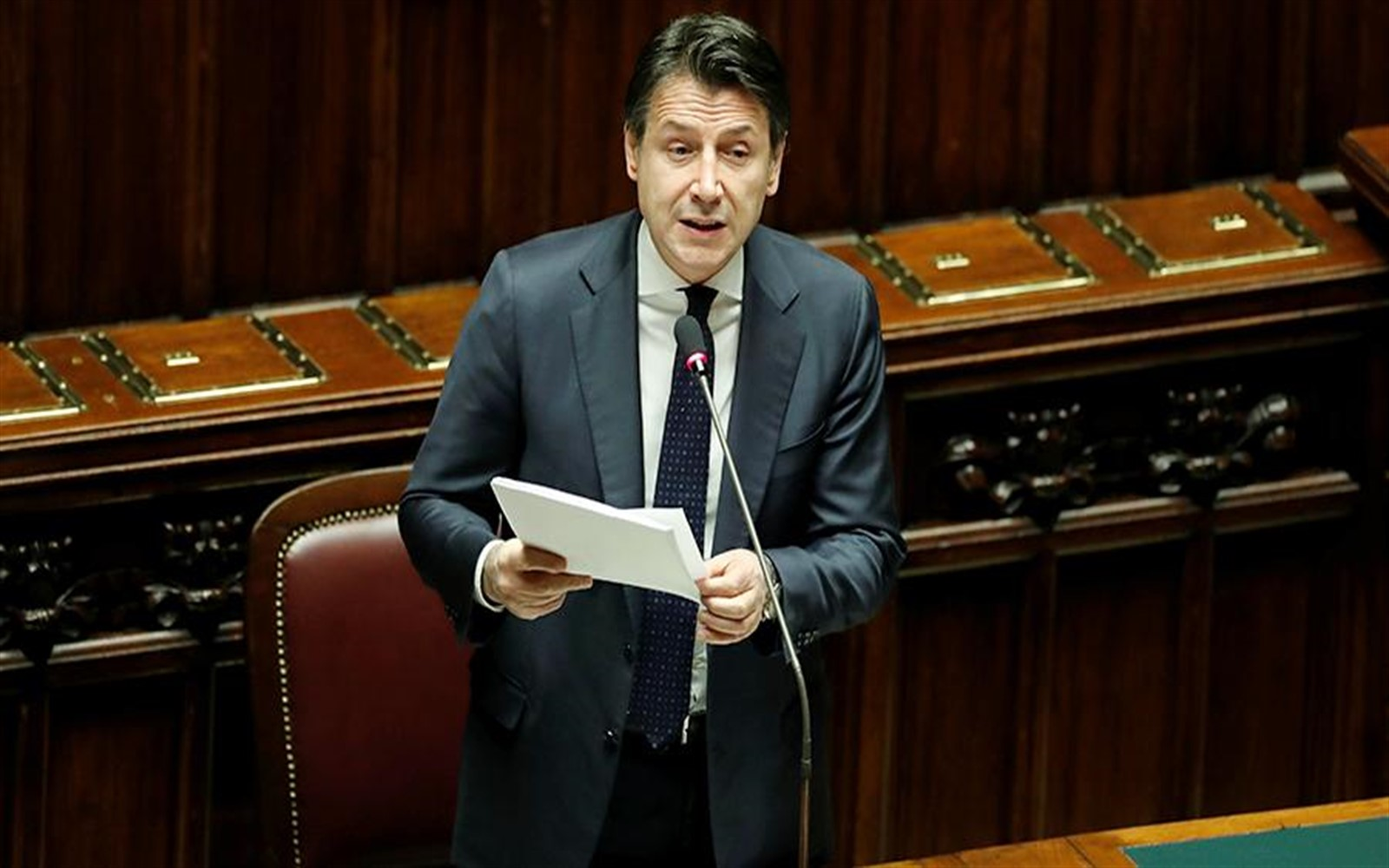 Photo of Italian Prime Minister finds insulting hints about the policy of assistance from Russia