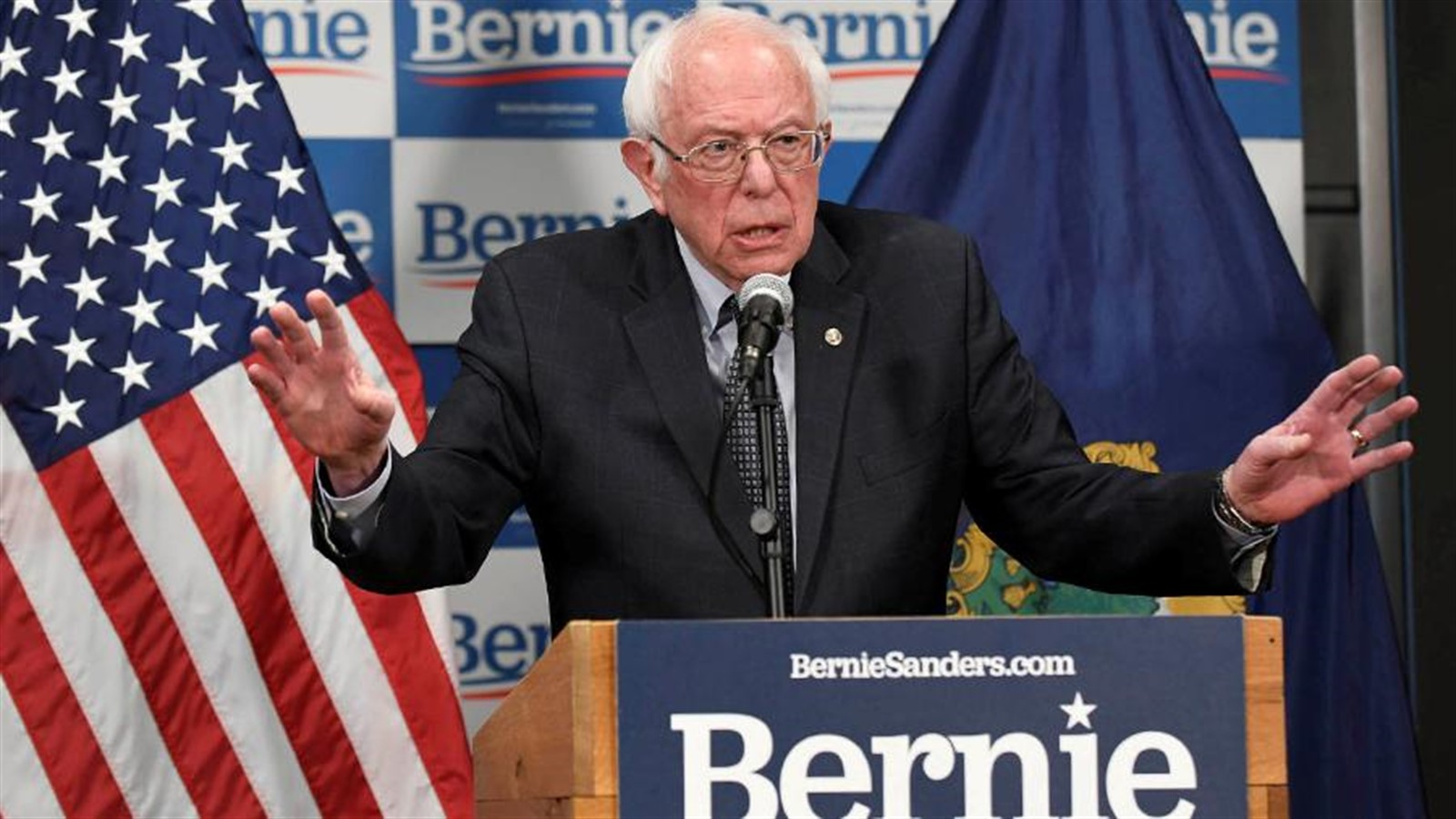 Photo of Democrat Bernie Sanders suspends participation in the US presidential race