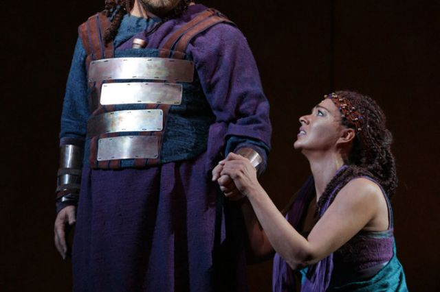 "Photo of Anywhere, anytime Peter Stein staged the timeless ""Aida"" in the Musical theater"