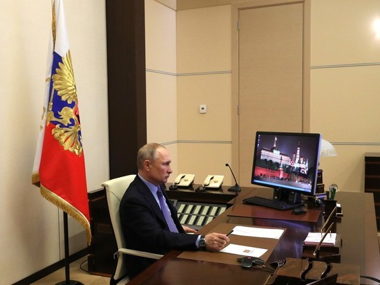 Photo of President Putin has started holding events remotely