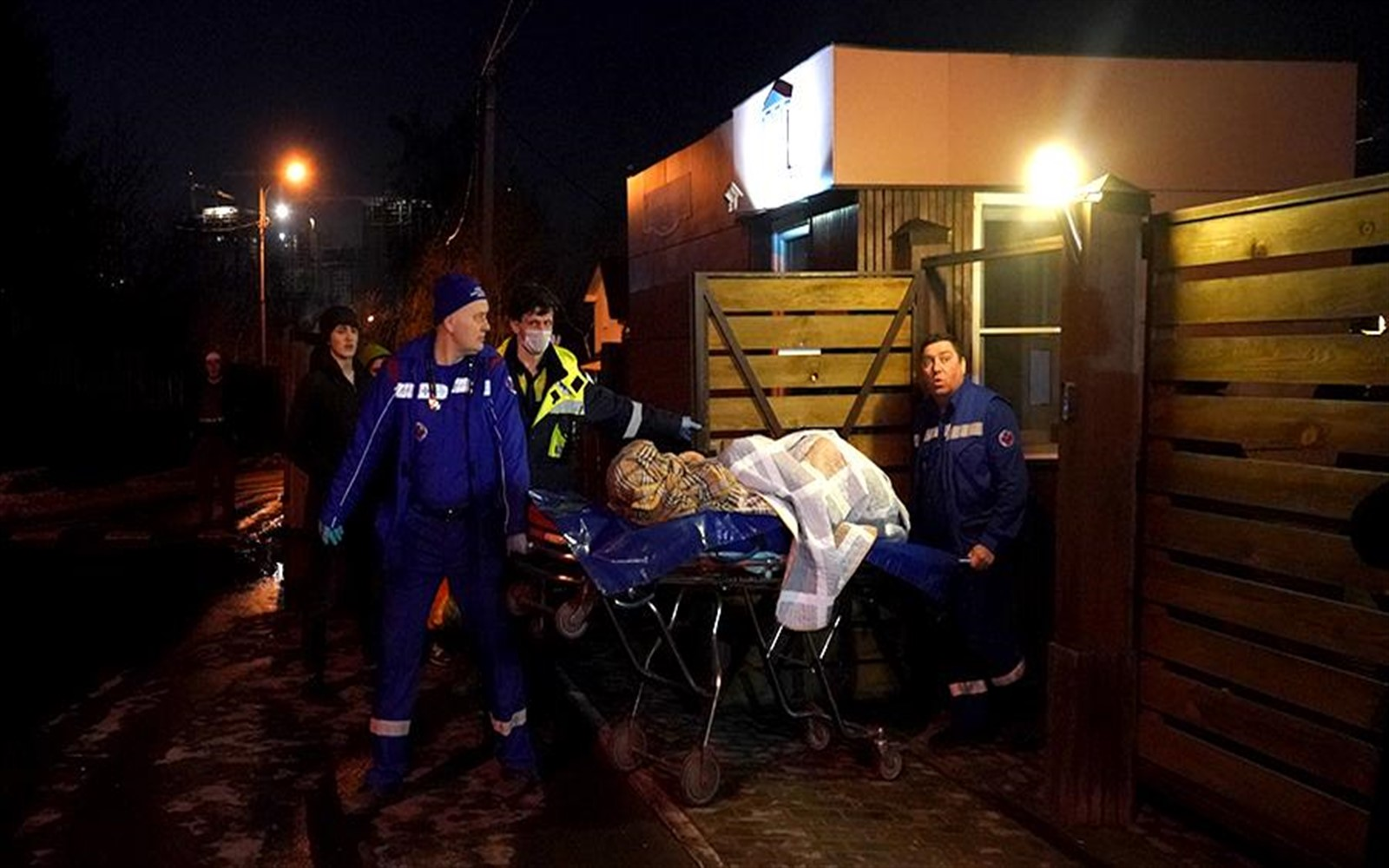Photo of The victims of a fire in a nursing home in Moscow involves four people