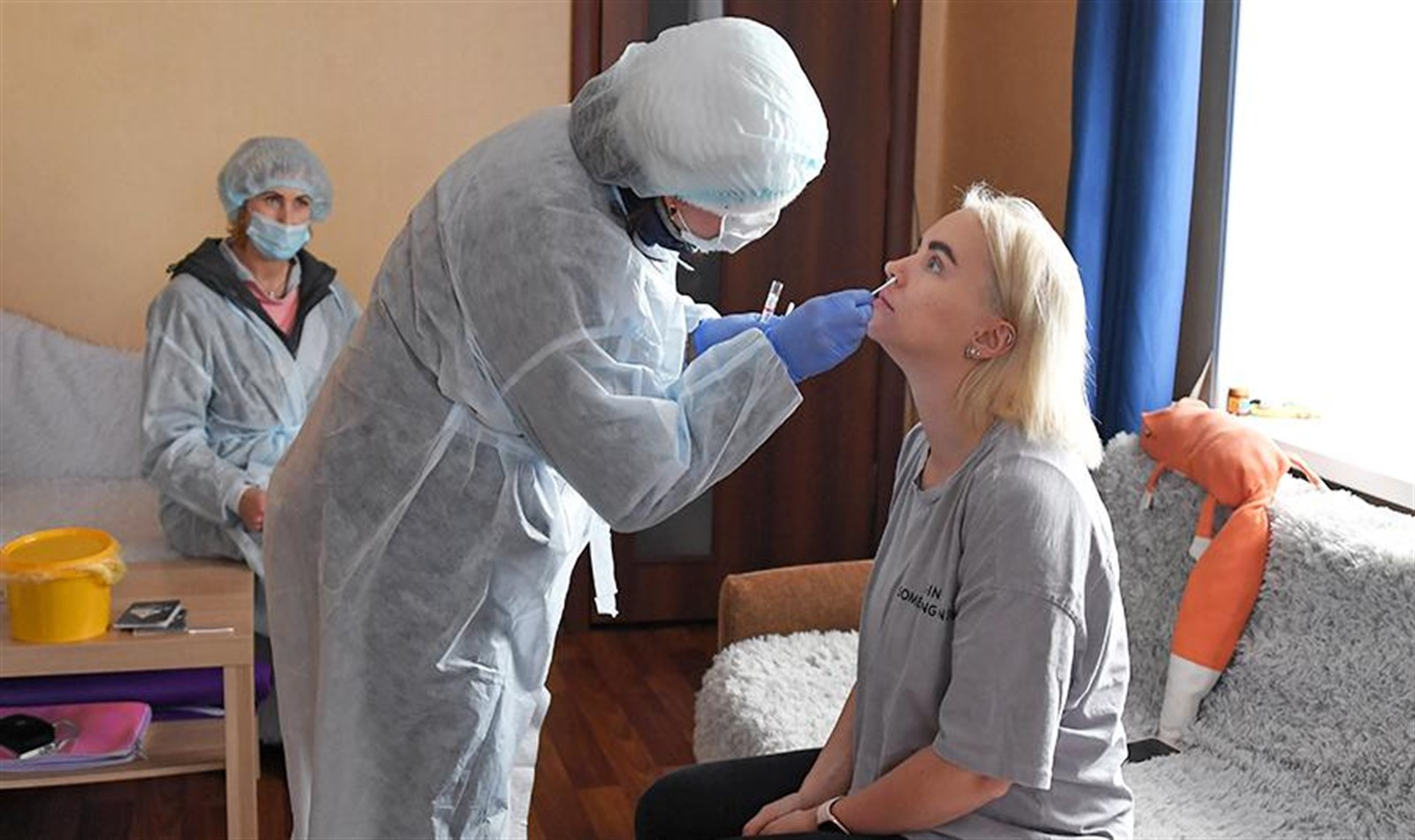 Photo of Seven thousand people in Moscow undergoing treatment for coronavirus at home
