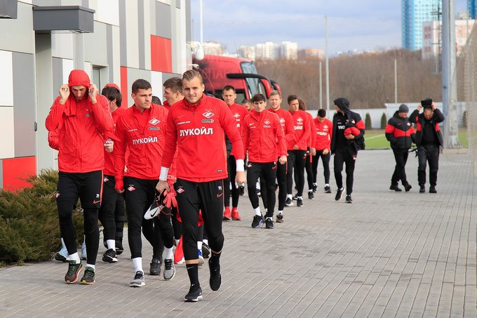 Photo of Spartak players took a pay cut during the quarantine