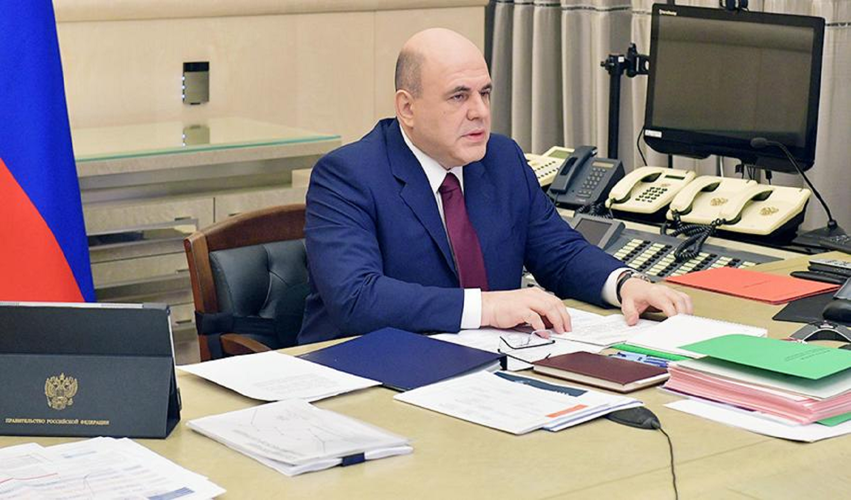 Large companies from the sectors affected by COVD-19 will also be able to use interest-free loans in Russia. This statement was made on Thursday, April 23, by Prime Minister Mikhail Mishustin