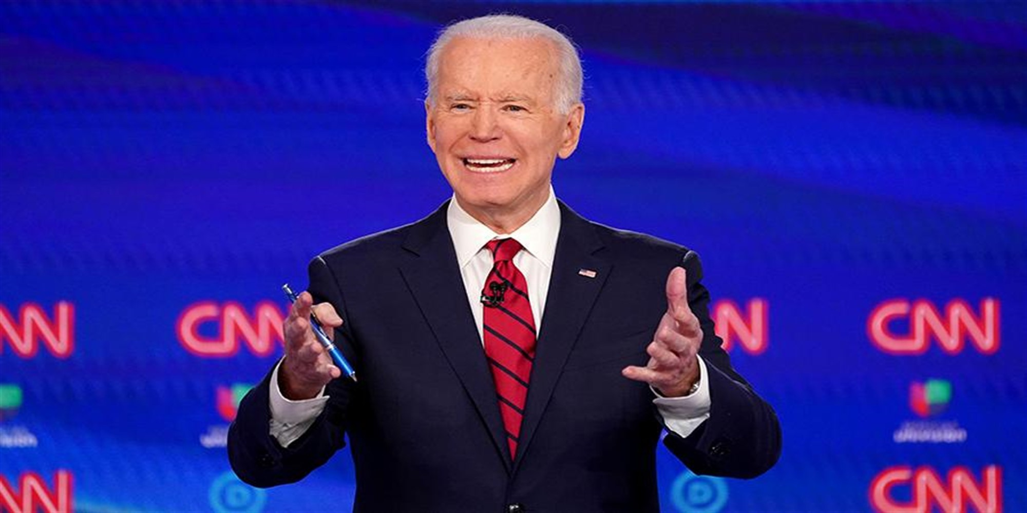 Democratic presidential candidate and former Vice President Joe Biden beat incumbent US leader Donald trump in the election race by 5%. This was reported