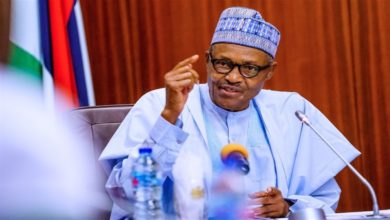 "Buhari offers one-year limit for criminal cases, says trials are "" terribly slow'"