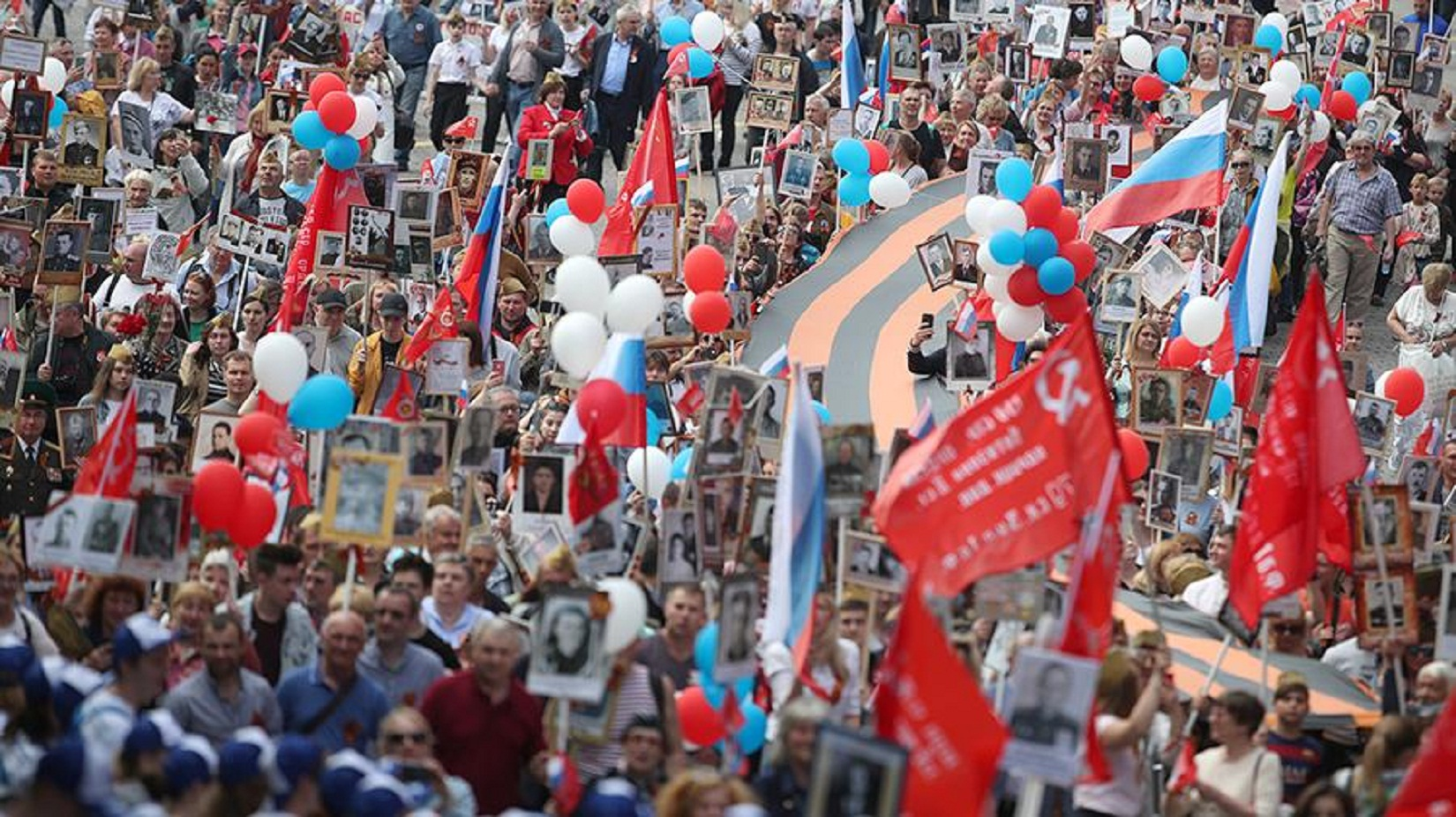 "Russian President Vladimir Putin said on may 9 that the ""Immortal regiment"" will still pass through red square."