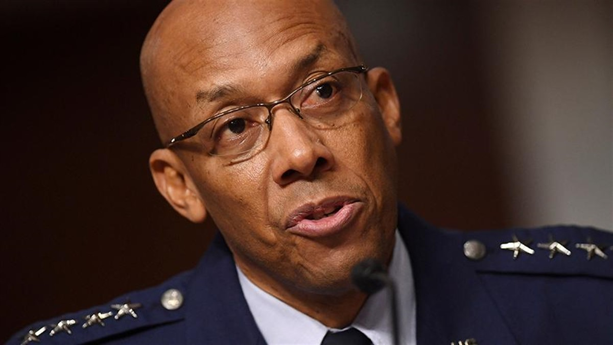 Photo of The US Senate first chose an African American chief of staff of the air force