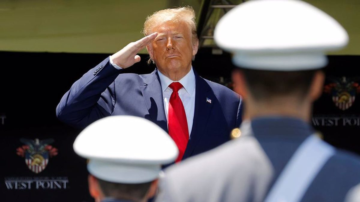 US President Donald trump believes that the us army has defeated fascism and Nazism. He made this statement on Saturday, June 13,