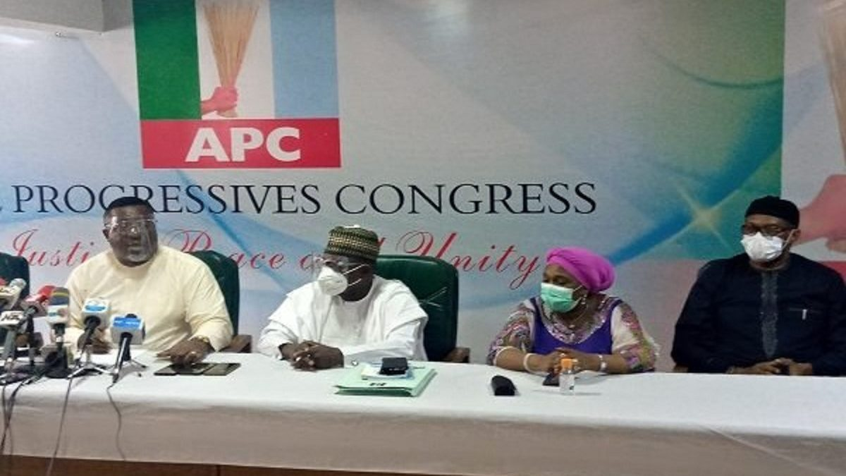 Photo of Buhari does not know about the invitation for NEC meeting, APC NWC insists