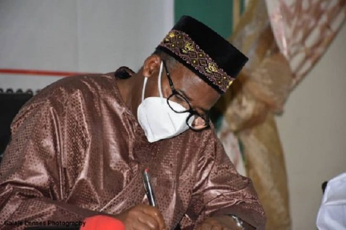 The Governor Of Bauchi, Bala Mohammad