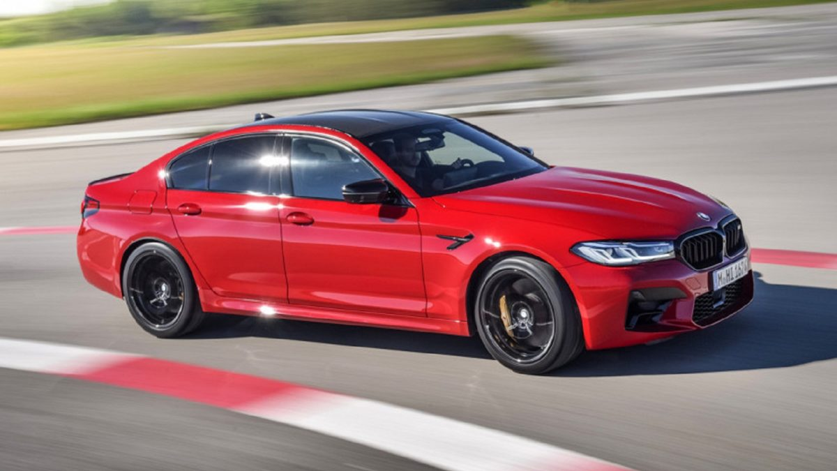 "The debut of the upgraded ""five"" BMW took place less than a month ago, and the company has already shown the updated BMW M5 sedan, and at once in two versions-standard and extreme Competition."