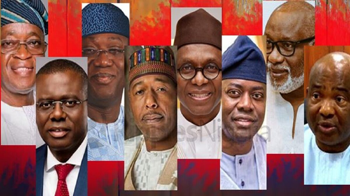 Photo of Tinubu, 3 other governors who fought and politically destroyed their deputies