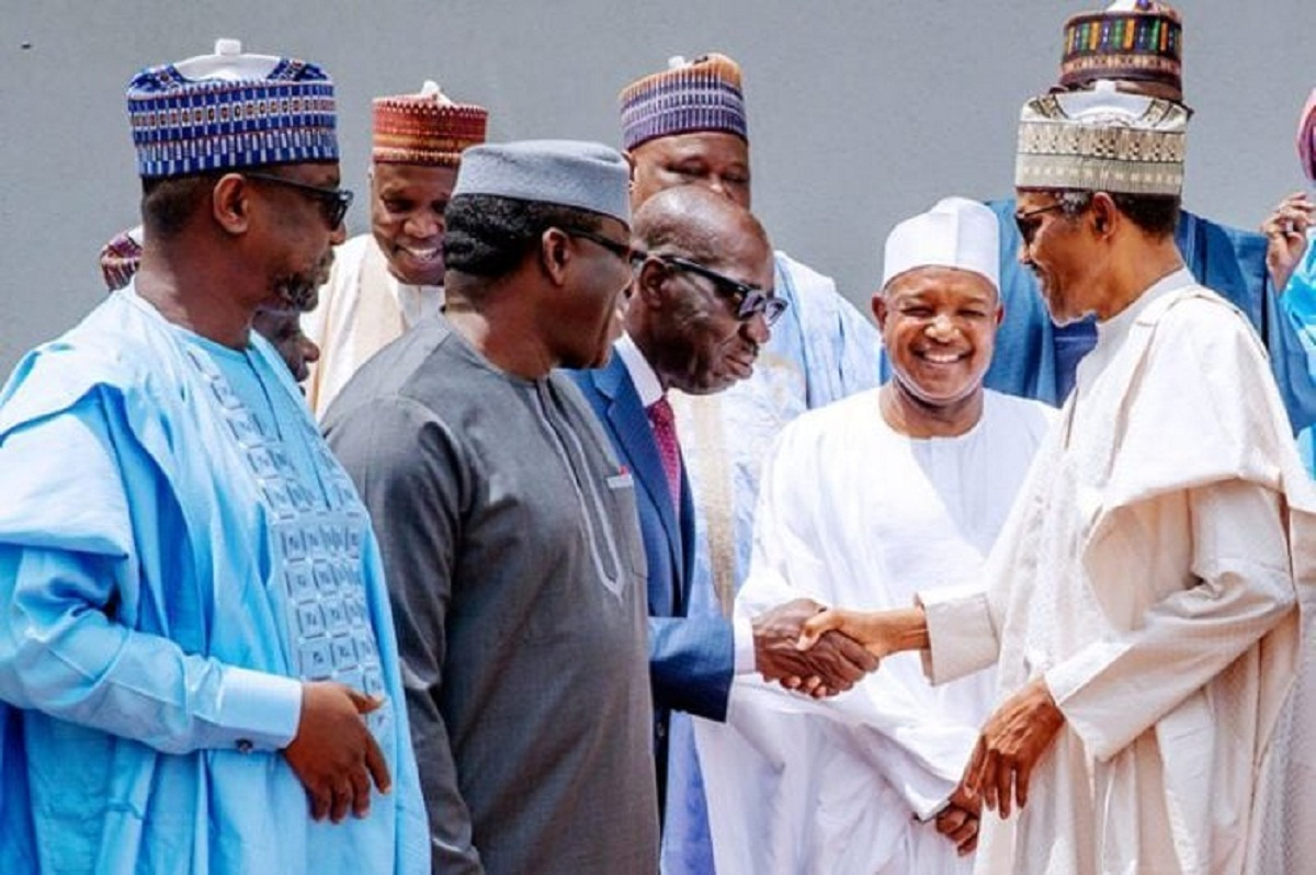 President Buhari met with the APC governors on Monday, June 22.