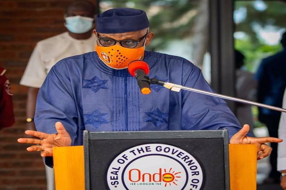 I will not rest until I wins the battle on unemployment-Akeredolu