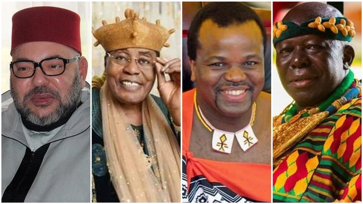 Wikipedia has compiled a list of the 5 richest kings in Africa, The platform reported that the rating was published by Forbes magazine in 2014, It should be noted that information about the king and his wealth was edited on his website on Thursday,