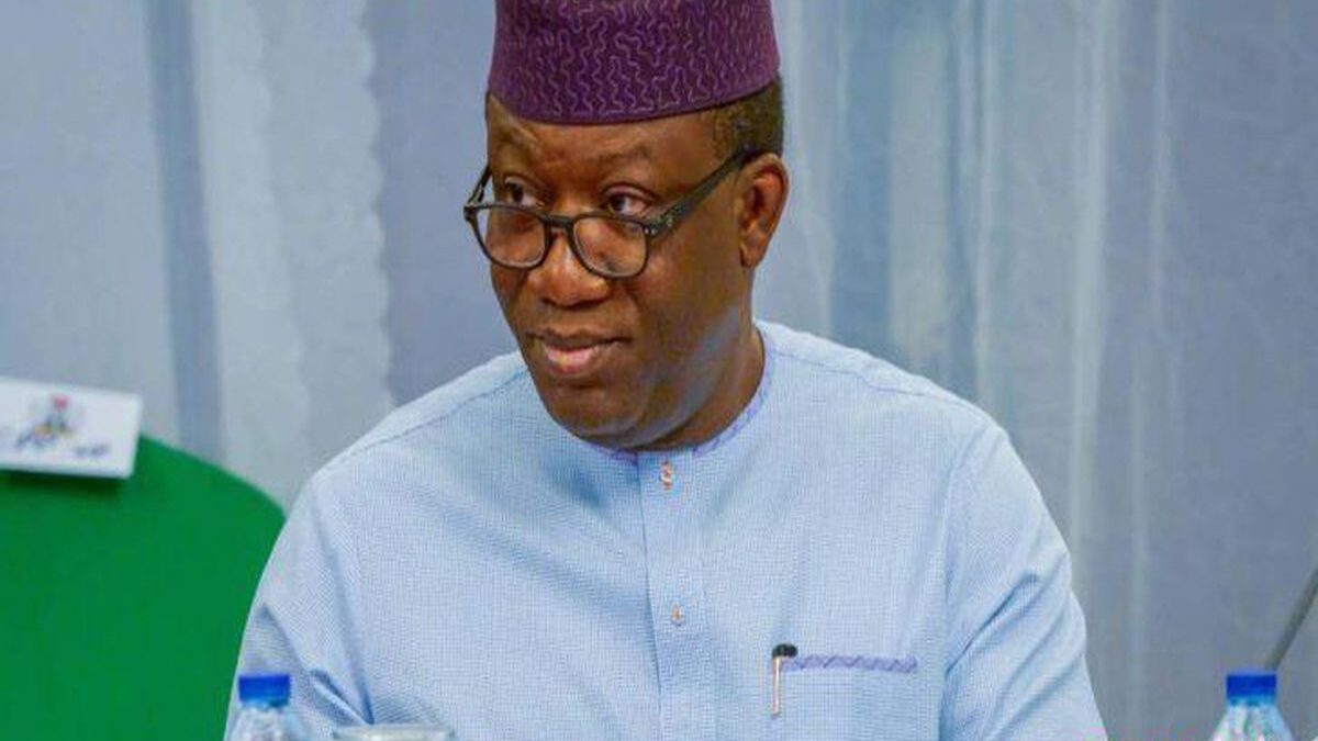 Photo of Fayemi Orders Ojudu's Ward To Suspend Him From Party