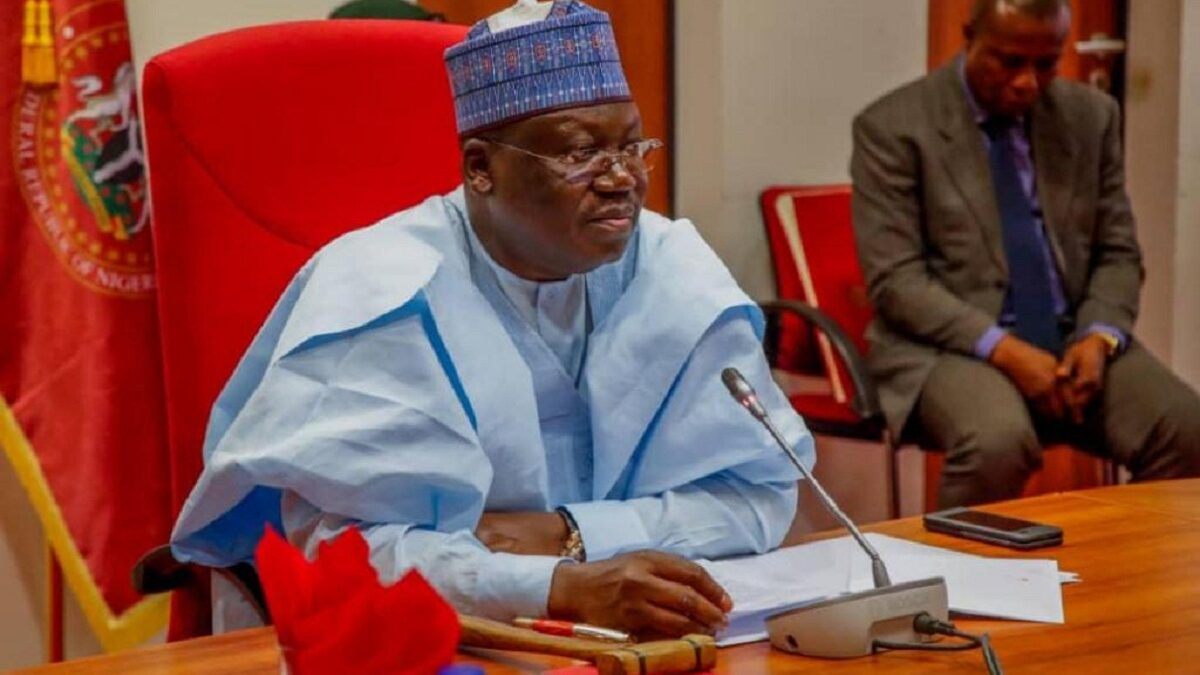 The President of the Nigerian Senate, Senator Ahmad lawan, said that any security chief who fails to meet expectations should be relieved of his duties