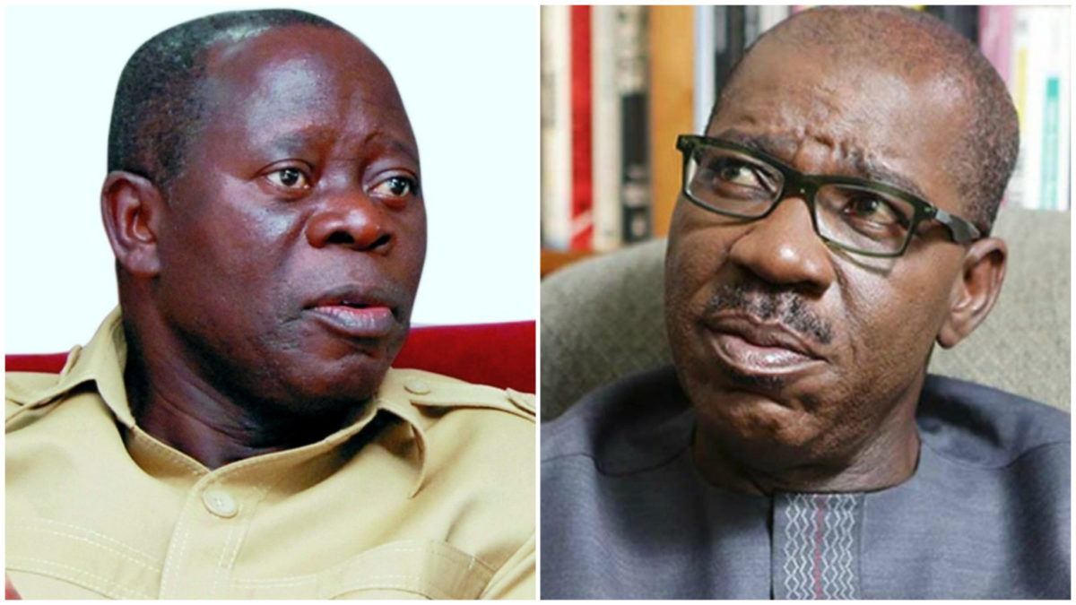 Photo of Obaseki: I Will Make Oshiomhole Irrelevant In Edo