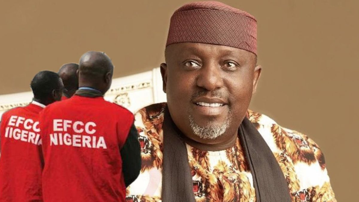 Kọmịshọna Economic and Financial Crimes Commission (EFCC) agwala onye gọvanọ nke Imo State na Senator na-anọchite anya Imo West Senatorial District na National