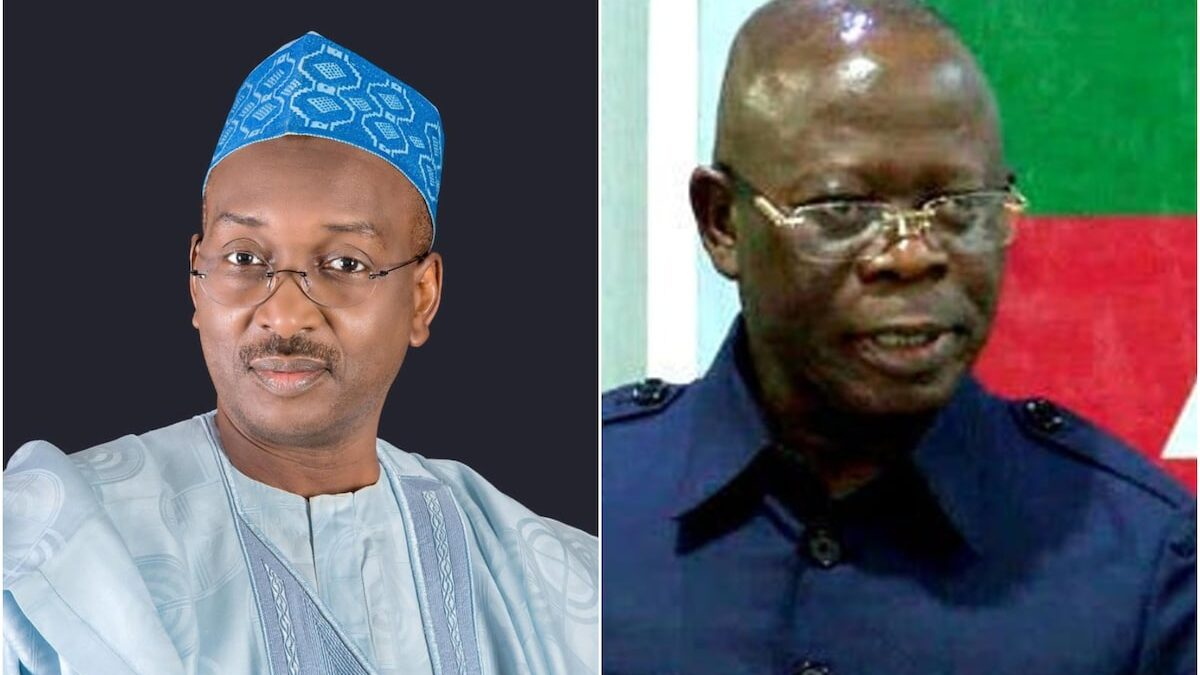 Salihu Lukman, Director General of the Progressive Governors Forum(PGF), said that the failure of the Adams Oshiomhole-led National working Committee of the All Progressives Congress(APC),