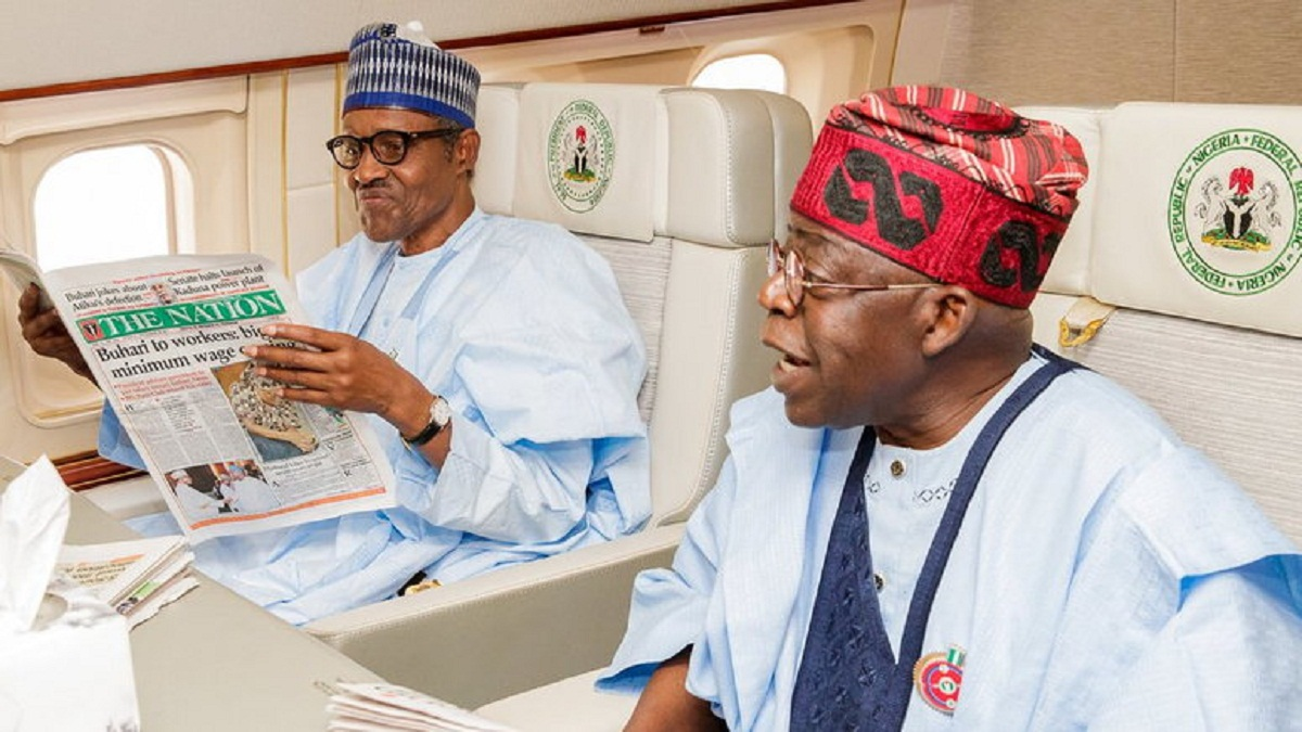 After accusations that he allegedly sponsored the election of President Muhammadu Buhari, Bola Tinubu denied the report