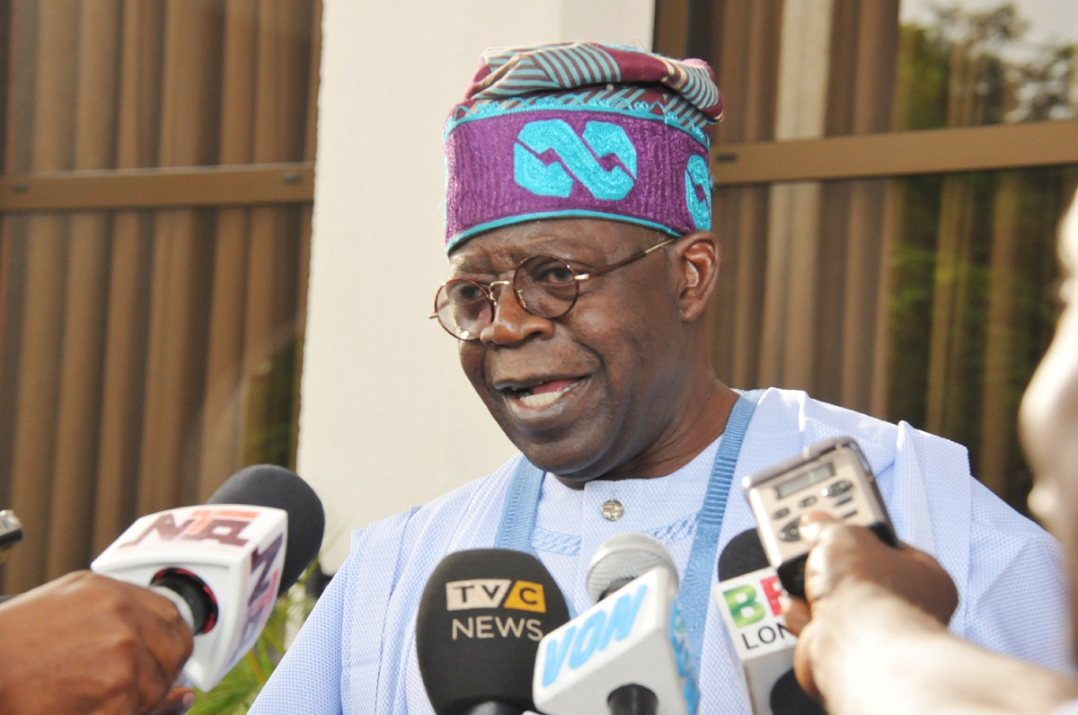 I have not yet decided on the 2023 presidential race - Tinubu