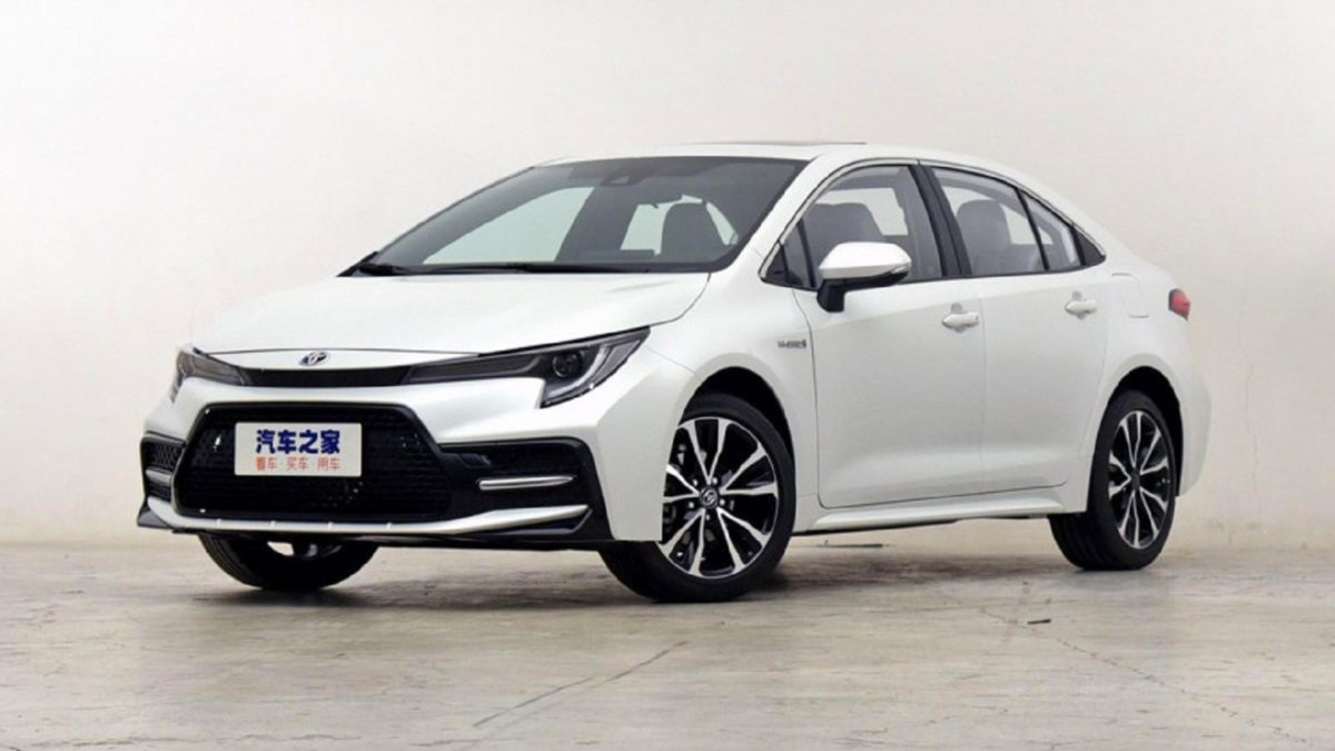 The original Corolla in China is produced by the FAW Toyota joint venture, and it has the same appearance as the familiar sedan. And the Toyota Levin model is a product of the GAC Toyota joint venture,