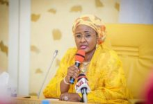 This is a sign that God is angry with us, Aisha Buhari warns Nigerians