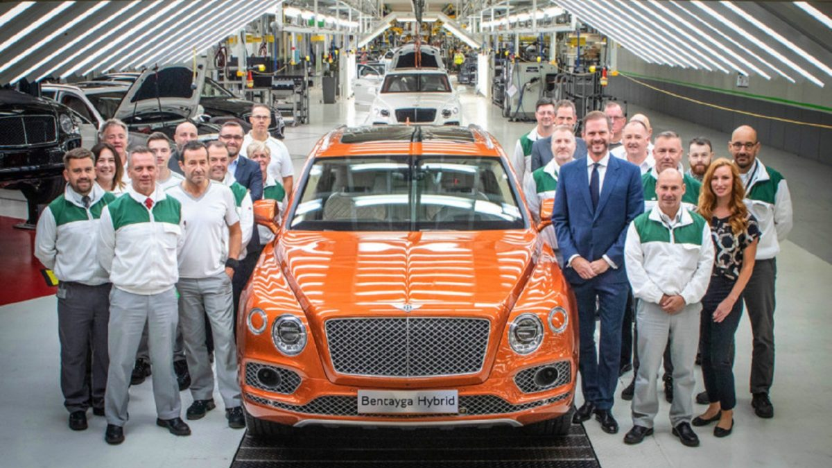 Photo of Bentley milestones: 20thousand Bentayga and the latest 6.75 engine