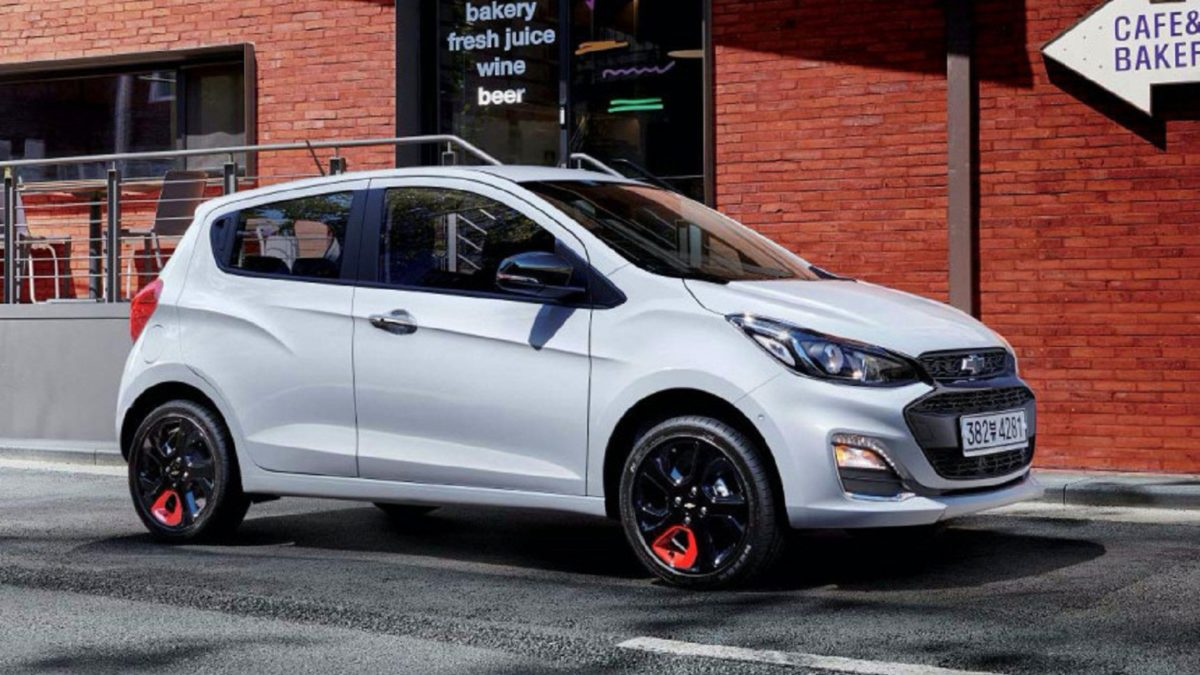 Photo of Chevrolet Spark hatchback slightly updates, in Korea