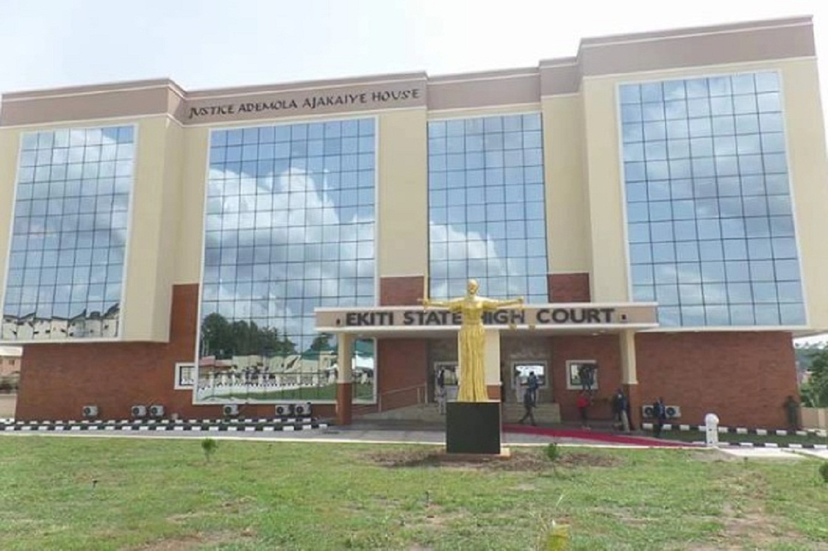 The High Court of Ekiti state, Ado Ekiti division, on Monday sentenced a 26-year-old Dele Ojo man to death by hanging for murdering the owner of a farm where he was stealing yam tubers.