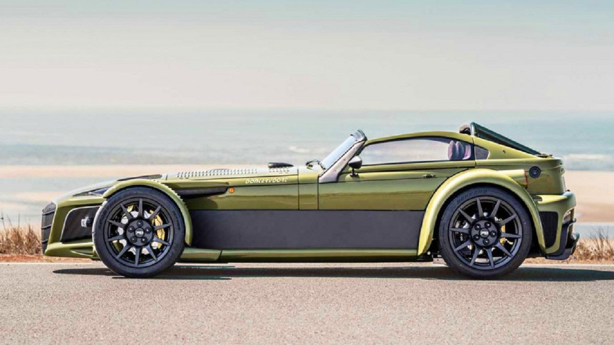 Last summer, the small Dutch company Donkervoort celebrated the 70th anniversary of its founder JOP Donkerforth, and on this occasion announced the anniversary Roadster D8 GTO-JD70