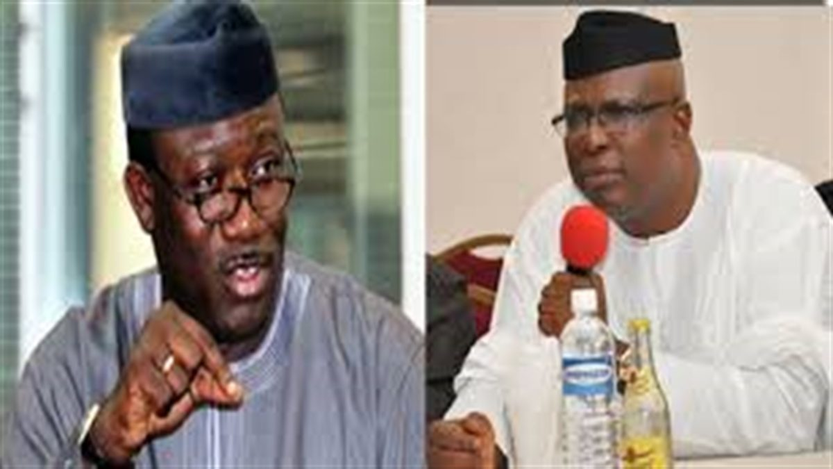 Ekiti State hit a new high as supporters of Governor Kayode Fayemi and Senator Babafemi Ojudu have remained at loggerheads, fighting dirty