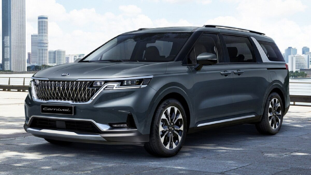 Photo of New Kia carnival minivan reveals