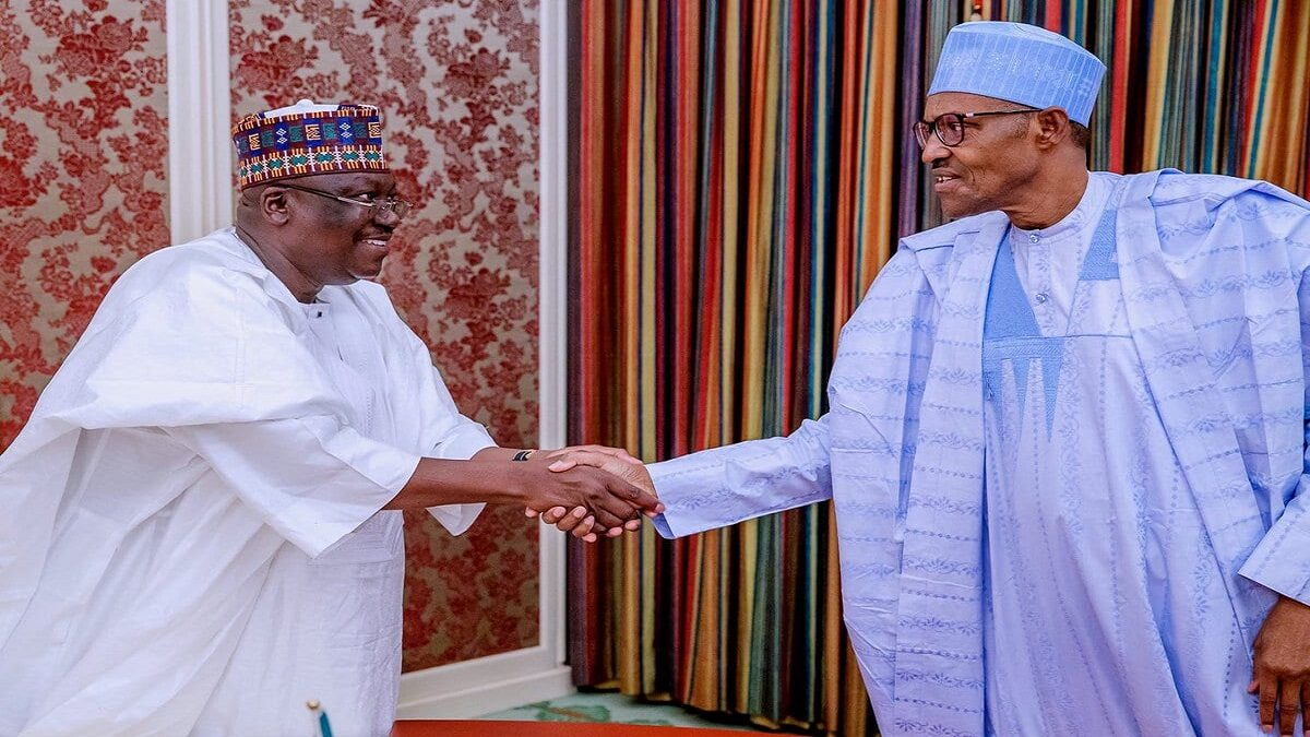 After a crucial meeting with President Muhammadu Buhari, Senate President Ahmed lawan announced his position in the crisis that has shaken the All Progressives Congress(APC)