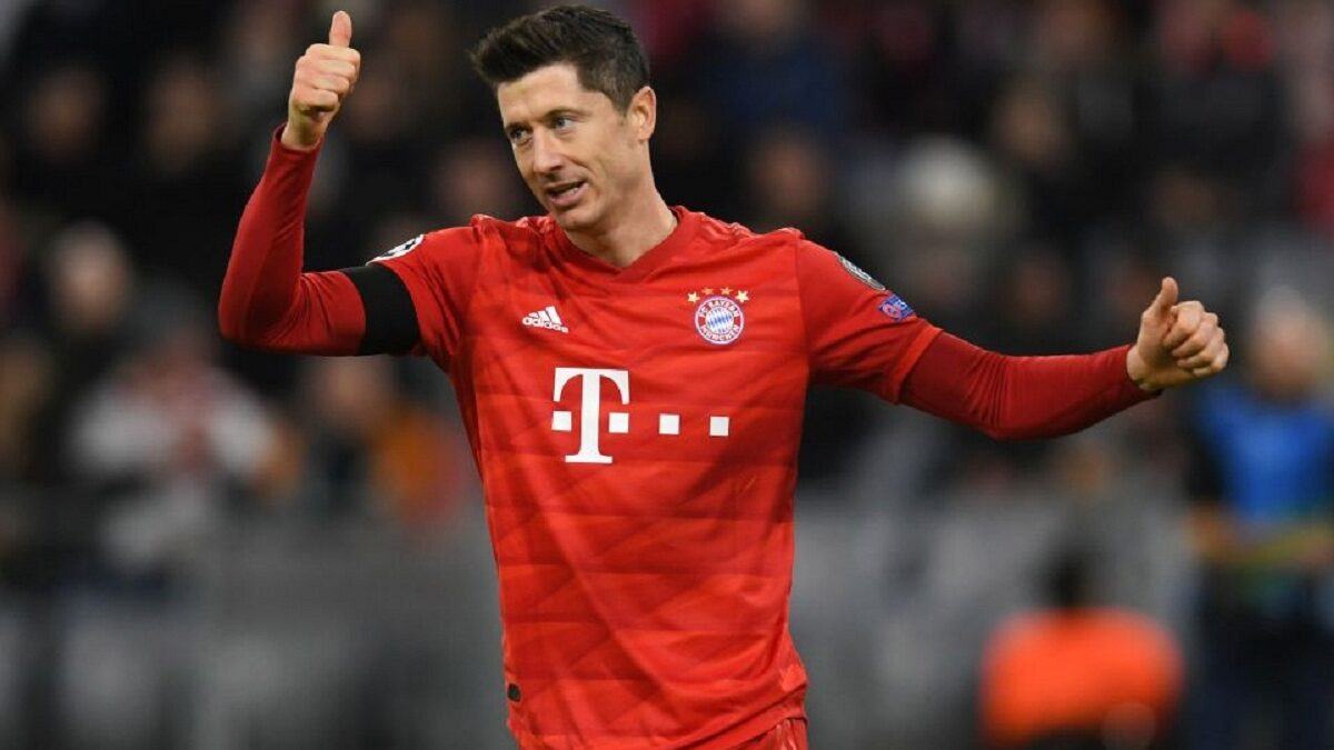 Robert Lewandowski set the record for the most goals scored by a foreigner in the Bundesliga when Champions Bayern Munich swept past Freiburg 3-1 on Saturday,