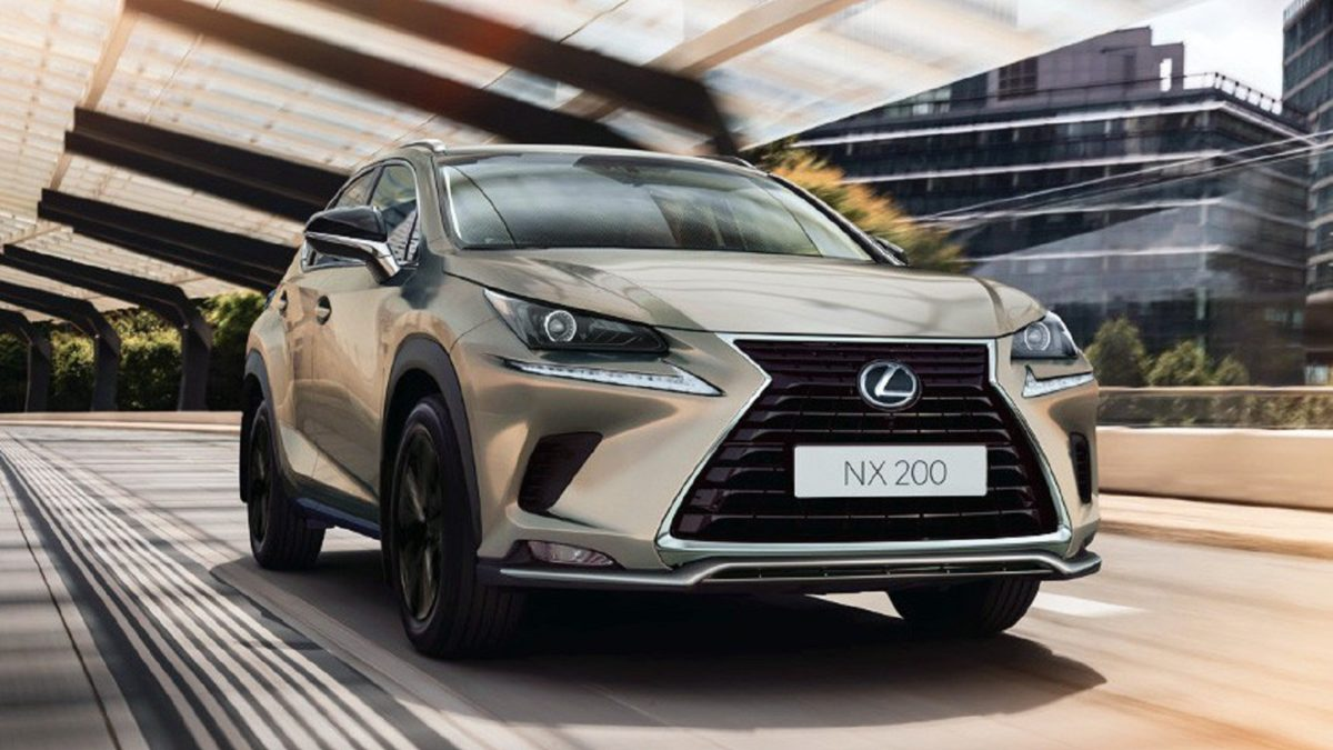 Photo of The Lexus NX crossover again has a special version of Black Vision