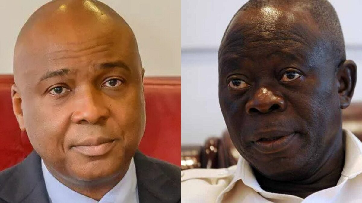 Photo of My greatest achievement was taking over kwara-Oshiomhole mocks Saraki