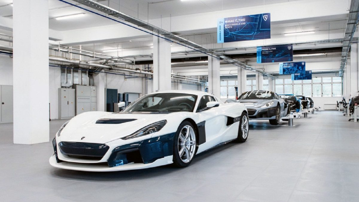The Croatian company Rimac Automobile is preparing to start production of mass-produced second-generation electric cars With Two. The new plant was built in the village of Veliko Trgovishche, while the production line