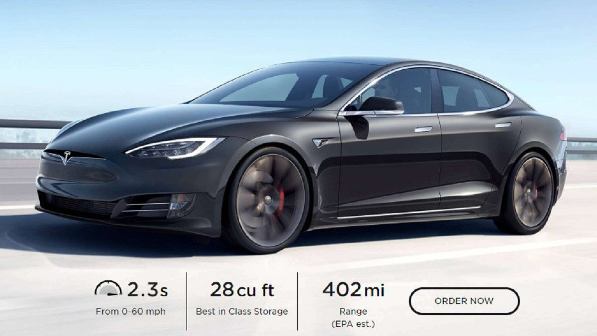 Photo of Modified Tesla Model S: almost 650 km on a single charge