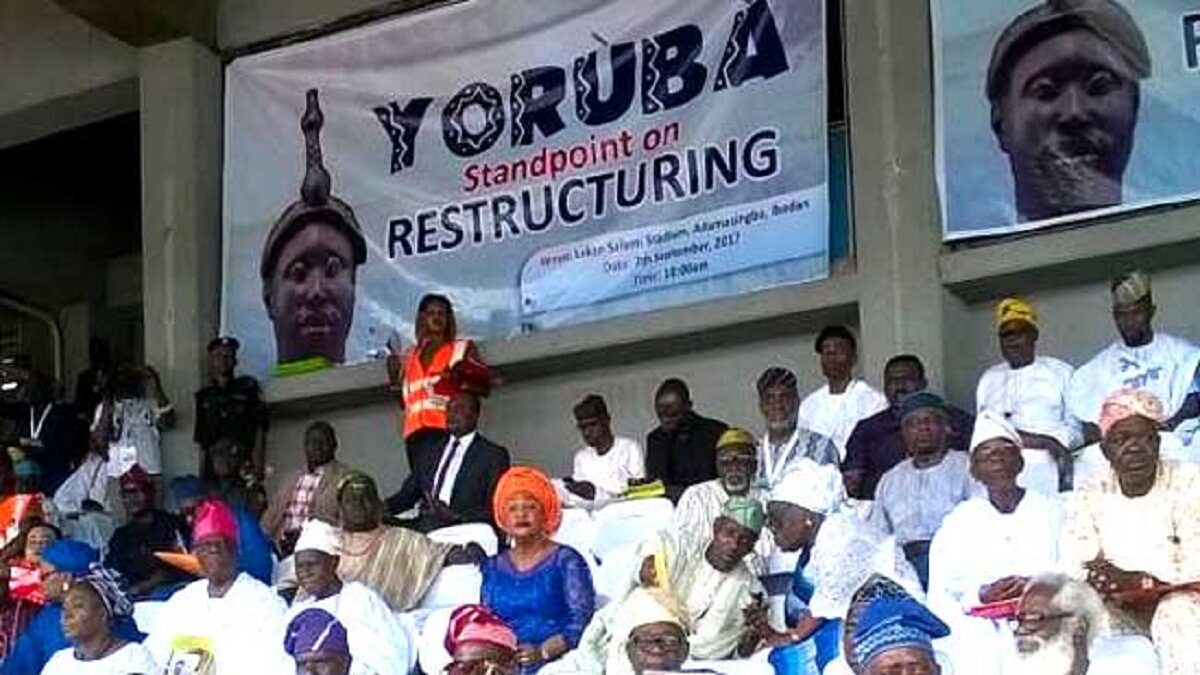 Secession: Nigerian governor reveals what must be done to achieve Yoruba Nation