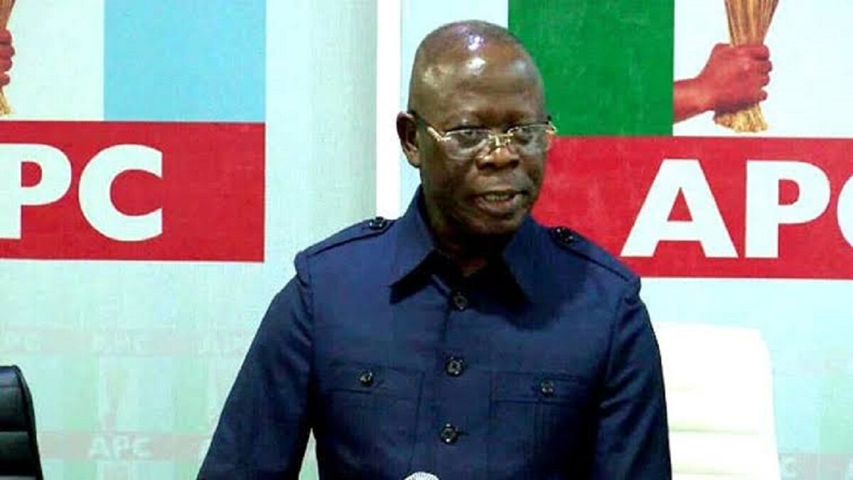 Former Edo State Governor and former National Chairman of the All Progressives Congress,APC, Comrade Adams Oshiomhole, arrived in Benin city,