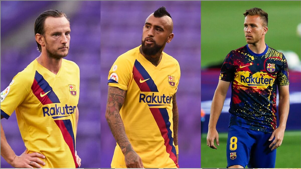 3 Barcelona players unite against Messi ahead of the Champions League clash with Napoli