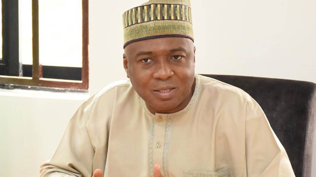 Bukola Saraki again says that the role of lawmakers is not to build schools, roads and bridges