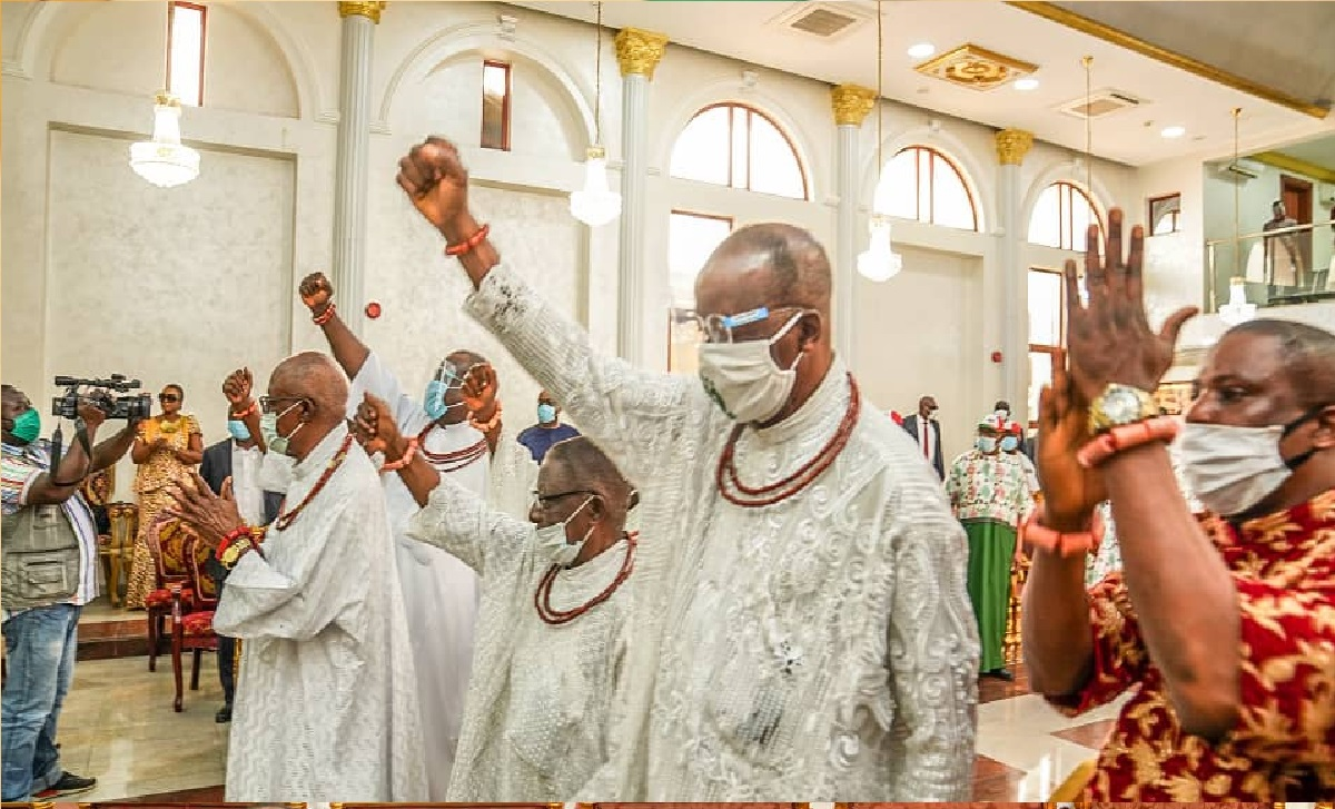 Edo 2020: Protect your votes, Wike, Okowa, Tambuwal, others, tells Edo people, also Visit Oba Of Benin (photos)