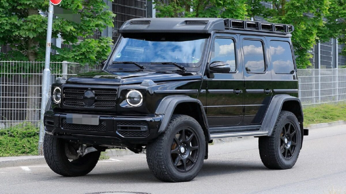 Photo of Extreme Mercedes-Benz G-class is preparing for its debut
