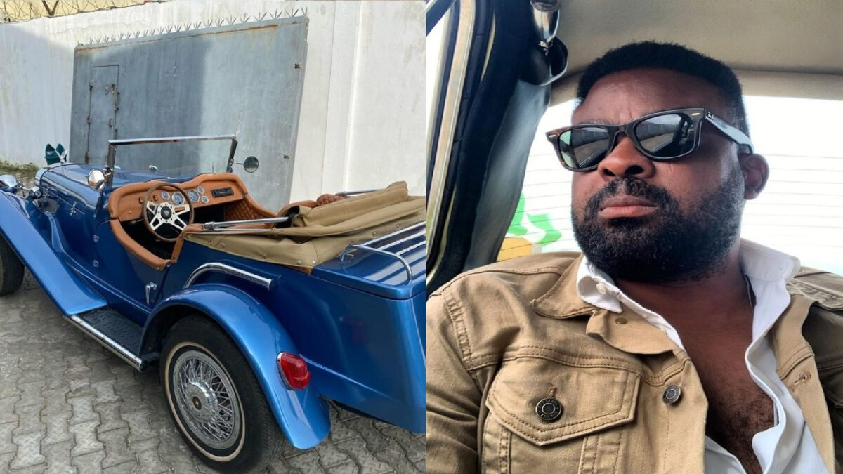 Photo of Kunle Afolayan buys 1929 Mercedes-Benz classic(Video)