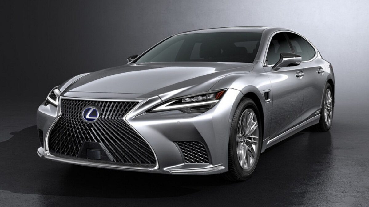 Photo of Lexus LS sedan updates is available