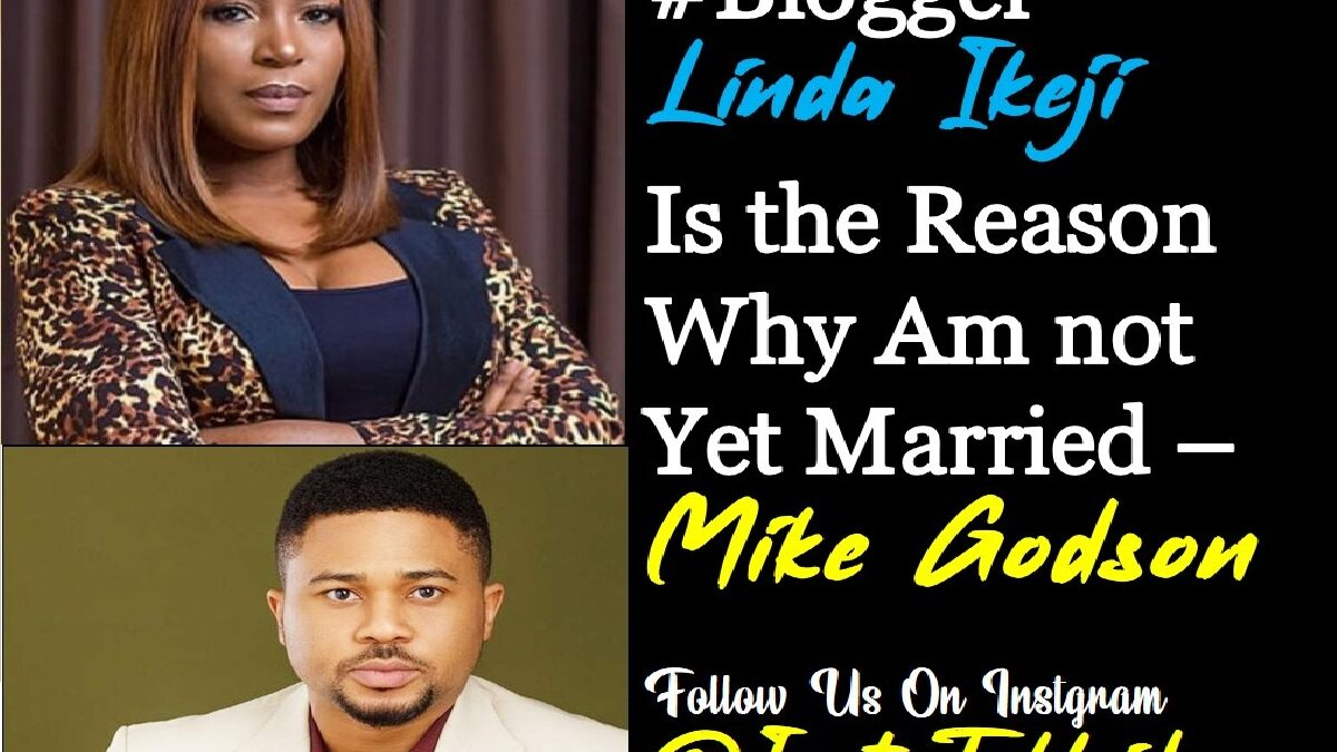 Photo of Mike Godson: Linda Ikeji is the reason I'm not married yet